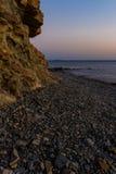 Black Sea kostnad Arkivbilder