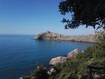 Black Sea Krime royaltyfri foto