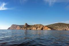 Black Sea kust Arkivbilder
