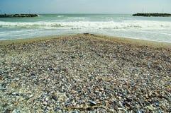 Black Sea kust arkivfoto