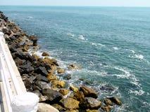 Black Sea kust Royaltyfria Foton