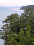 Black Sea kust av Kaukasus arkivfoto