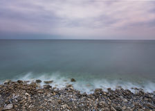 Black Sea kuster royaltyfri foto