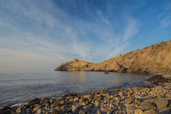 Black sea landscape Royalty Free Stock Photos