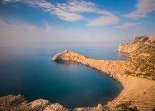 Black sea landscape Stock Images
