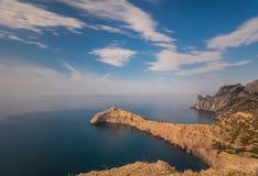Black sea landscape Royalty Free Stock Photo