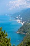 Black Sea nordliga Turkiet Royaltyfri Fotografi
