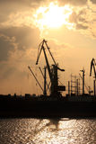 Black Sea port port Royalty Free Stock Images