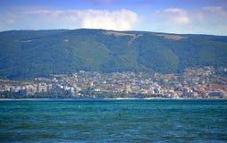 Black sea resort view Stock Images
