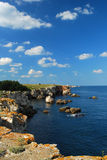 Black sea rocky coast - Bulgaria Stock Images