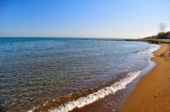 Black Sea Shore in Turkey Stock Images