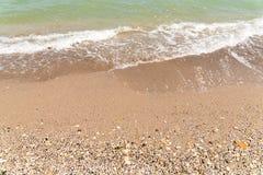 The Black Sea Shoreline Royalty Free Stock Image