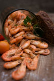 This Black Sea shrimp. Royalty Free Stock Photo