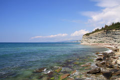 Black sea side Royalty Free Stock Photos