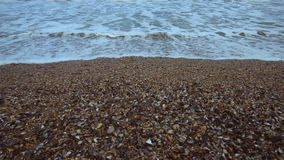 Black Sea strand i vintertid arkivfilmer