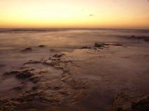Black Sea Sunrise. The Black Sea Sunrise in Costinesti resort Stock Image