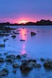 Black Sea sunrise Stock Photos