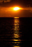 Black Sea at sunset Royalty Free Stock Photo