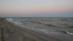 Black Sea Sunset stock video