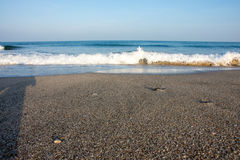 Black Sea surf, Bulgaria Royalty Free Stock Photography