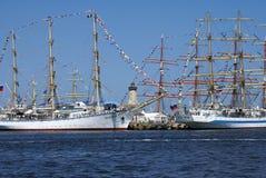 The Black Sea Tall Ships Regatta 2014. Stock Photo