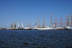THE BLACK SEA TALL SHIPS REGATTA 2014 Stock Photo