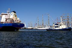 THE BLACK SEA TALL SHIPS REGATTA 2014 Royalty Free Stock Image