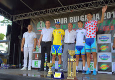 Black Sea Tour jersey winners Stock Images