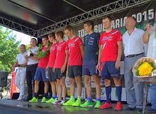 Black Sea Tour winning team Stock Images