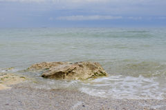 Black sea in Vama Veche Royalty Free Stock Image