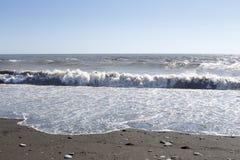 Black Sea waves för textur för hav för illustrationsdesign naturliga Sochi Arkivbilder