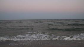 Black Sea waves stock footage
