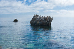 Black Sea wild water-scape Stock Photos