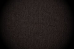 Black seamless canvas background Stock Image