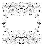 Black seamless  flower  pattern Royalty Free Stock Photos
