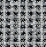 Black seamless mosaic Stock Photo