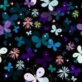 Black  seamless pattern Royalty Free Stock Photography