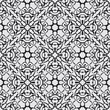 Black seamless pattern Royalty Free Stock Photography