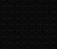 Black seamless poker background  Royalty Free Stock Photos