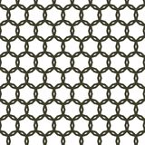Black Seamless Rounded Abstract Fence Pattern Background Texture. Black Seamless Rounded Black Fence Pattern Background Texture Stock Photo