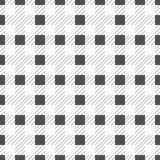 Black seamless table cloth with plaid gingham picnic pattern. Gingham seamless plaid pattern illustration eps 10 vector illustration