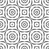BLACK SEAMLESS WHITE BACKGROUND PATTERN royalty free stock images