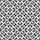 BLACK SEAMLESS WHITE BACKGROUND PATTERN Stock Photo