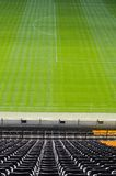 Black seats. In Borussia stadium in Dortmund Stock Photography