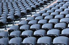 Black seats Stock Images
