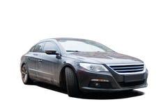 Black sedan Stock Image