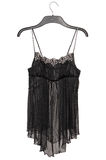Black seductive, transparent negligee Royalty Free Stock Photography
