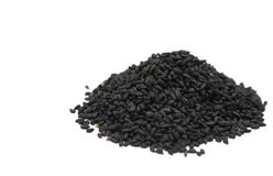 Black seed nigella sativa Stock Photo
