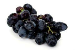 Black seedless grapes Stock Photo