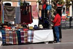 Black seller in the street 26 Stock Photo